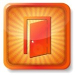 15419646-orange-exit-door-icon