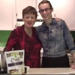 Catherine Brunelle and Marcelle Forget make Whipped Body Butter