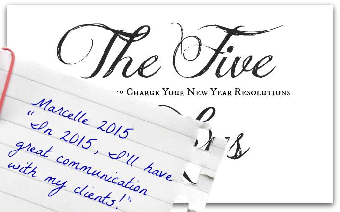 New Year's Resolution Awakening Potentials